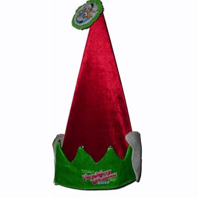 Disney Very Merry Christmas Party Hat - 2010 - Mickey Donald Pluto