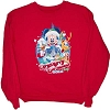 Disney Adult Shirt - Very Merry Christmas Party 2010 - Red - Sweater