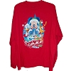 Disney Adult Shirt - Very Merry Christmas Party 2010 - Red Long Sleeve