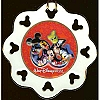Disney Disc Ornament - 2006 Logo - Mickey and Friends