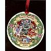 Disney Disc Ornament - 2009 Christmas Through the Years