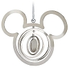 Disney Christmas Ornament - Silver Mickey Ears