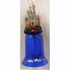 Disney Holiday Ornament - Bell - Christmas Castle