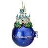 Disney Holiday Ornament - Cinderella Castle - Christmas Holly Wrap