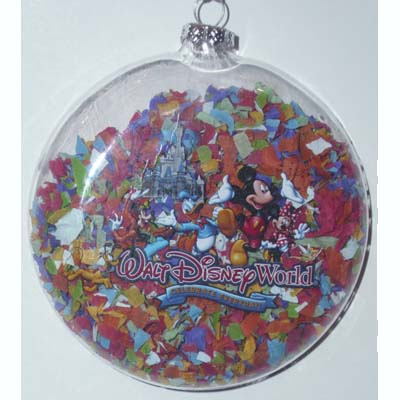 Disney Holiday Ornament - Celebrate Everyday - Confetti