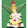 Disney Christmas Ornament - Tinker Bell on Snowflake
