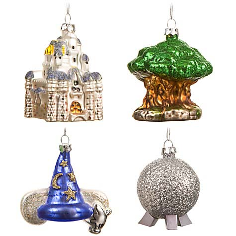 Disney Christmas Ornament - Park Icons - Choice