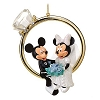 Disney Figurine Ornament - Mickey and Minnie Wedding Ring