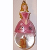 Disney Globe Ornament - Aurora - Chipmunk