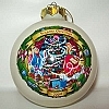 Disney Christmas Through the Years Glass Ball Ornament - Cinderella