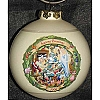 Disney Christmas Through the Years Glass Ball Ornament - Pinocchio