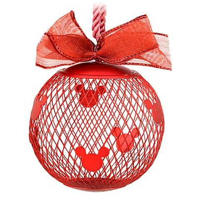 Disney Christmas Ornament - Fillable Mesh Mickey Mouse