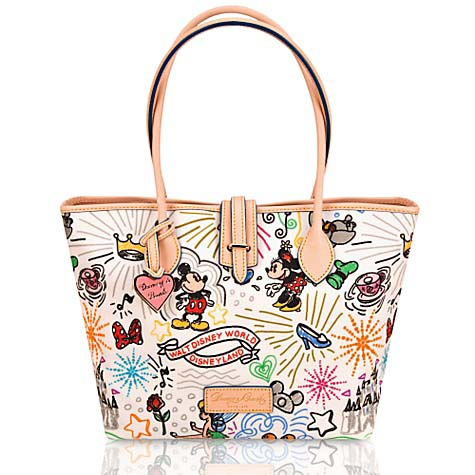Disney Dooney Amp Bourke Bag Sketch Medium Tote