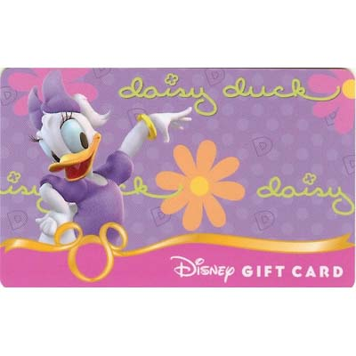 Disney Collectible Gift Card - Fab. Six - Daisy