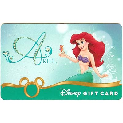 Disney Collectible Gift Card - Heart of a Princess - Ariel