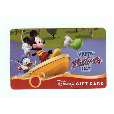 Disney Collectible Gift Card - Happy Father's Day - Mickey Mouse
