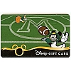Disney Collectible Gift Card - Sports - Football Mickey and Donald