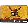 Disney Collectible Gift Card - Pirates of the Caribbean