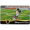 Disney Collectible Gift Card - Sports - Soccer Mickey Mouse