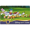 Disney Collectible Gift Card - Tug of War Donald Daisy Nephews