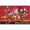 Disney Collectible Gift Card - Celebrate Everyday Mickey and Friends