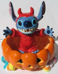 Disney Candy Dish - Stitch Sitting Inside