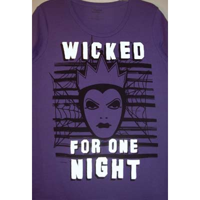 Disney Women's Shirt - Wicked For One Night - Evil Queen