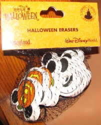 Disney Halloween Erasers - Mickey Pumpkin