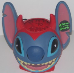 Disney Halloween Candy Pail - Stitch Glow in the Dark