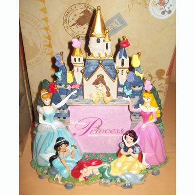 Disney Picture Frame - Princess and Castle - 4 x 6