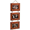 Disney Picture Frame - Three Link Mickey Wood Frames