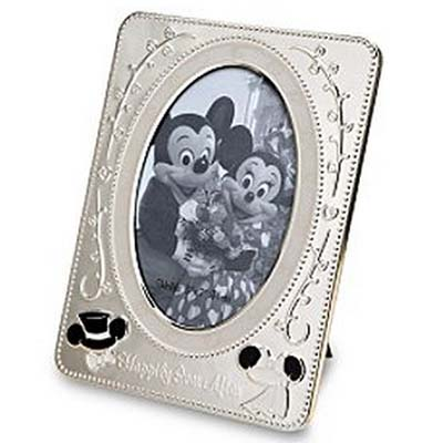 Disney Picture Frame - Wedding Mickey and Minnie Mouse - 5 x 7