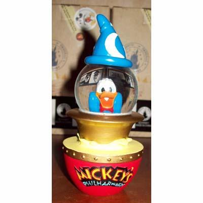 Disney Snow Globe Donald Duck Mickey S Philharmagic