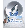SeaWorld Snow Globe - Arctic Blue Sea Life