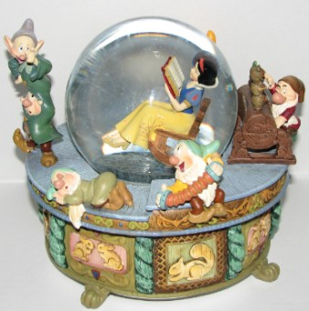 Superb Disney Snow Globe Snow White Rocking Chair Inzonedesignstudio Interior Chair Design Inzonedesignstudiocom