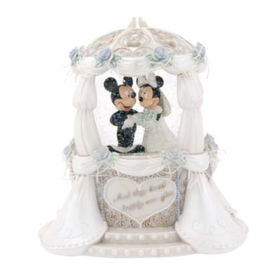 Your Wdw Store Disney Snow Globe Wedding Mickey Amp Minnie