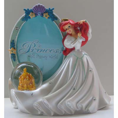 Your WDW Store - Disney Snow Globe Picture Frame - Ariel