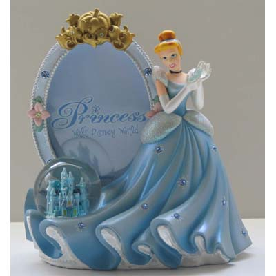 Your WDW Store - Disney Snow Globe Picture Frame - Princess Cinderella