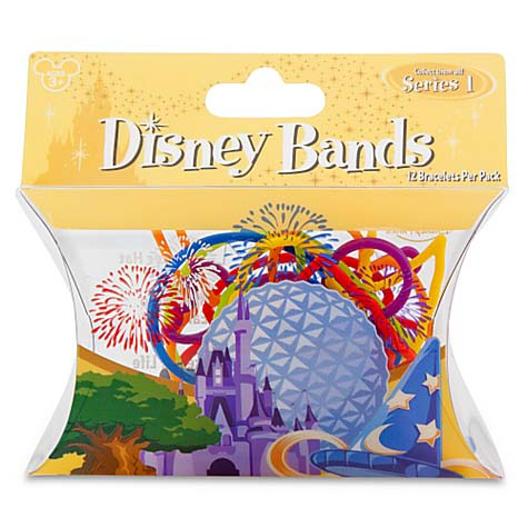Disney Character Bands - Four Parks - Park Series 1