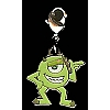 Disney Dangle Charm - MONSTERS MIKE
