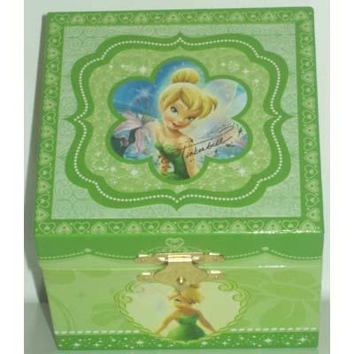 Your WDW Store Disney Trinket Box Tinker Bell Musical Jewelry Box