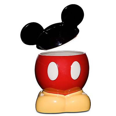 Images For Disney Cookie Jars >> Disney Cookie Jar Mickey Mouse Body Parts