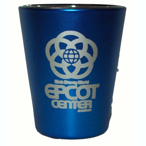 Disney World Shot Glass - Epcot Center