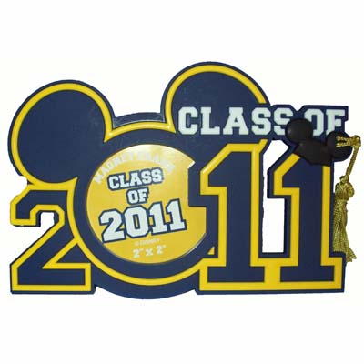 Disney Photo Frame Magnet - Class of 2011