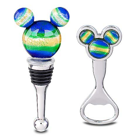 Disney Bottle Stopper and Opener Set - Mickey Mouse