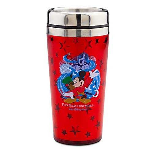Disney Travel Mug - Four Parks Walt Disney World