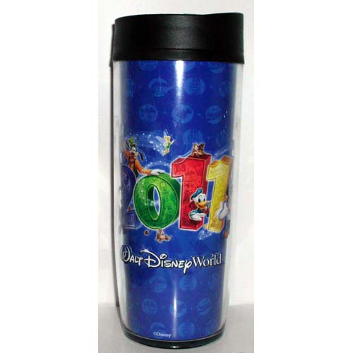 Disney Travel Mug - 2011 - Walt Disney World Resort