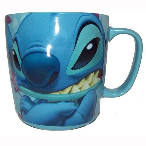 Your WDW Store Disney Coffee Cup Mug Stitch Blue