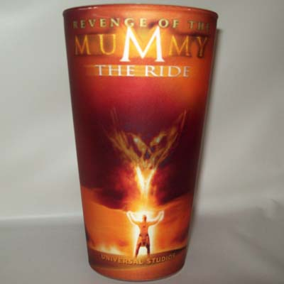 Universal Studios Plastic Cup Revenge Of The Mummy The