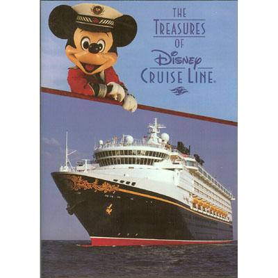 Disney DVD The Treasures Of Disney Cruise Line